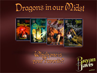 Bryan Davis - Dragons in our Midst - Which one is your Favorite?