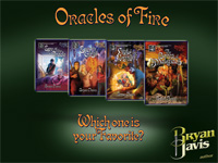 Bryan Davis - Oracles of Fire - Which one is your Favorite?